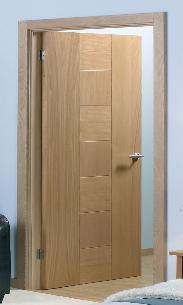 catalonia pre finished oak internal door