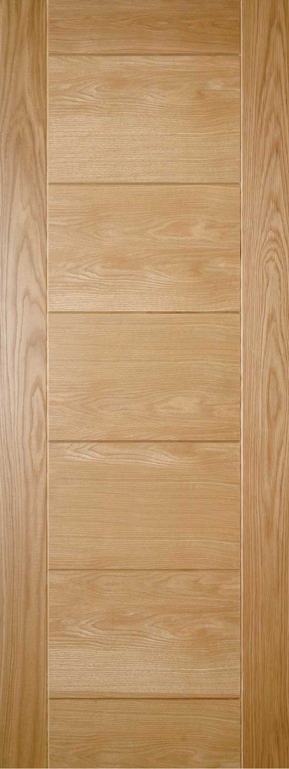 Sevillia Grooved Pre Finished Oak Internal Door