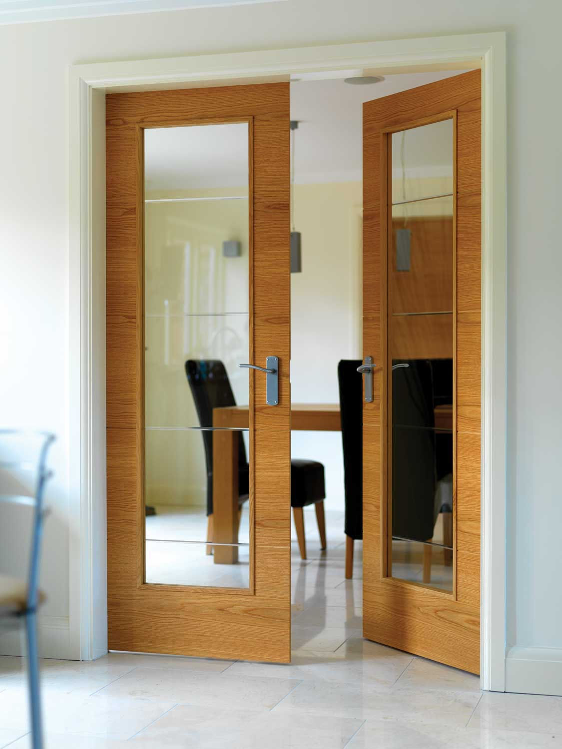 Vt5 Pre Finished Oak Internal Door