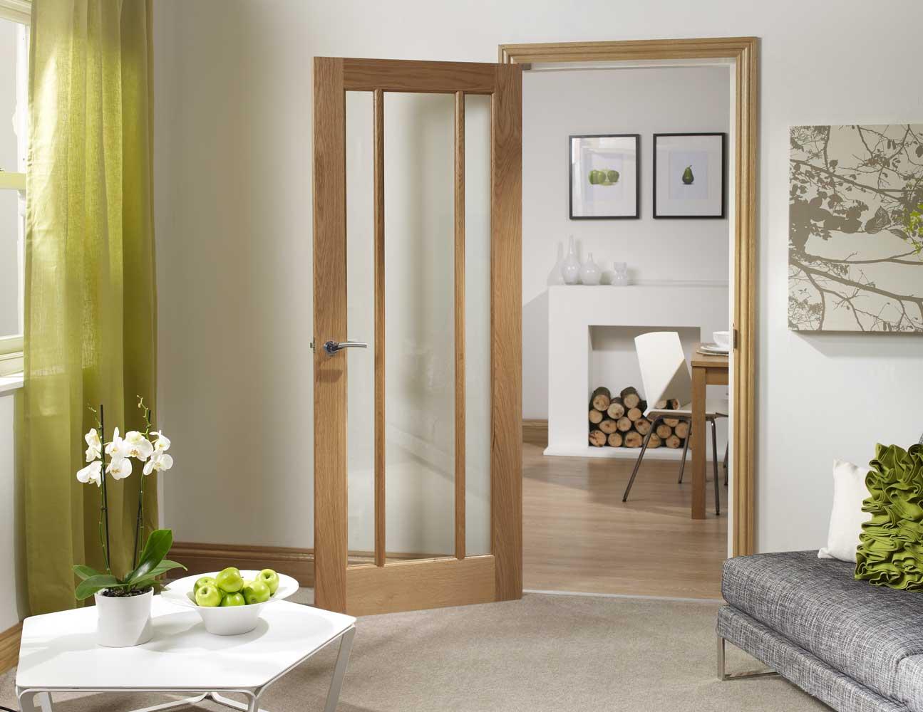 Pre Finished Oak Internal Door