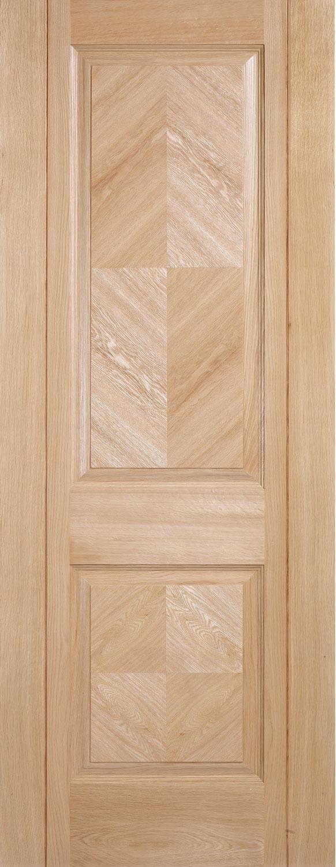 Madrid Pre Finished Oak Internal Door
