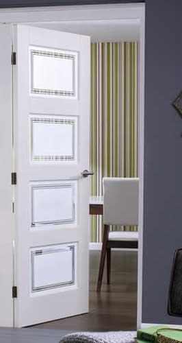 Contemporary 4 glazed internal white doors planetlyrics Image collections