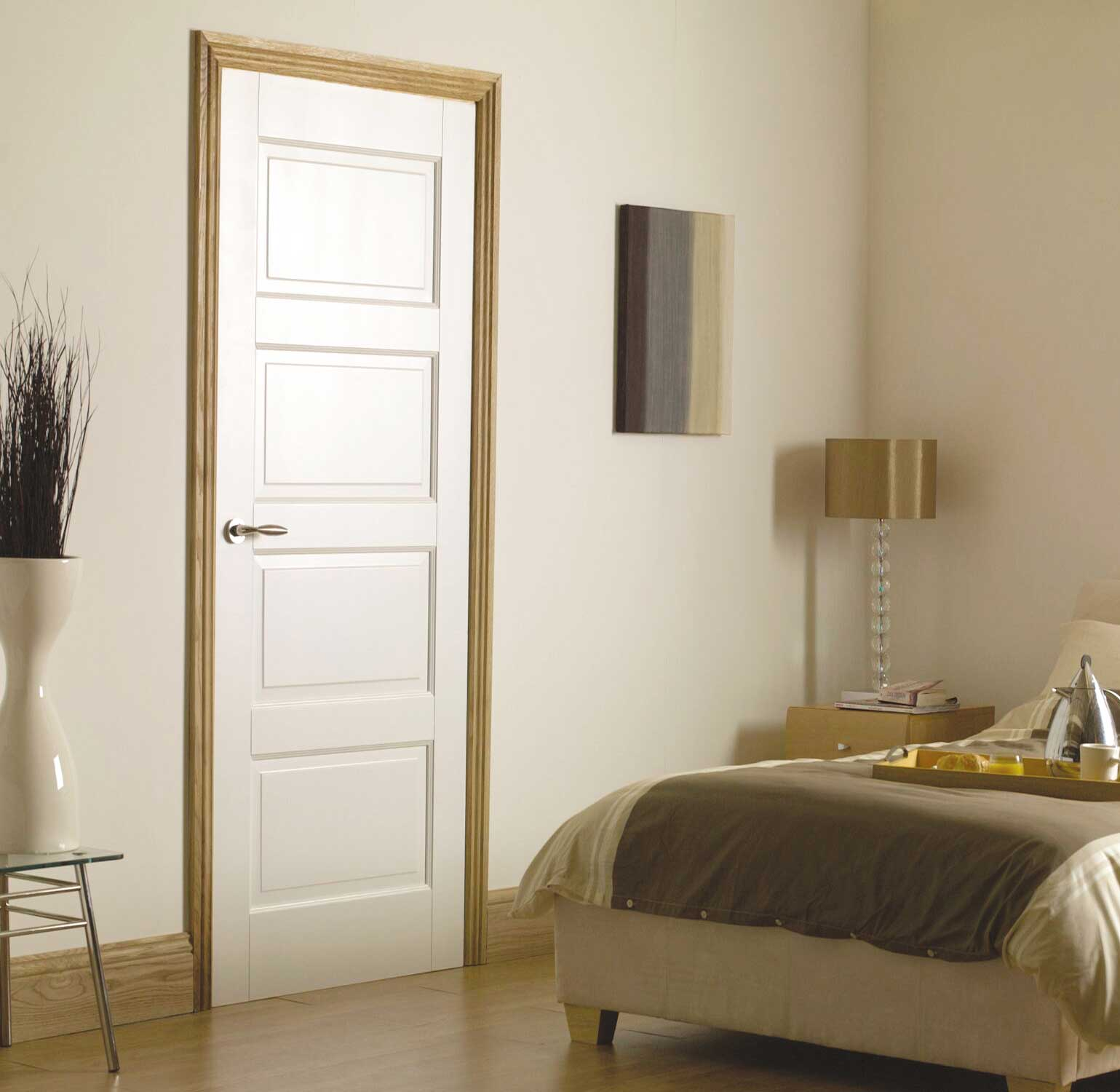 Modern doors for bedroom the image kid for Modern interior doors