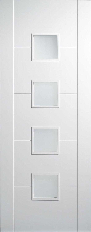u0027Floridau0027 Glazed White Door & Florida White Internal Doors pezcame.com