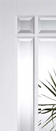 \u0027downham Glazed\u0027 Glass Detail  sc 1 st  Doors of Distinction & Downham Glazed Internal White Doors