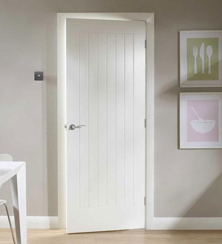 Mi casa decoracion puertas blancas interior - Puertas perciber ...