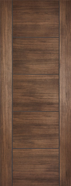 \u0027Vancouver\u0027 Pre-finished Laminate Walnut Door ... & Walnut Doors | Walnut Internal Doors | Doors of Distinction