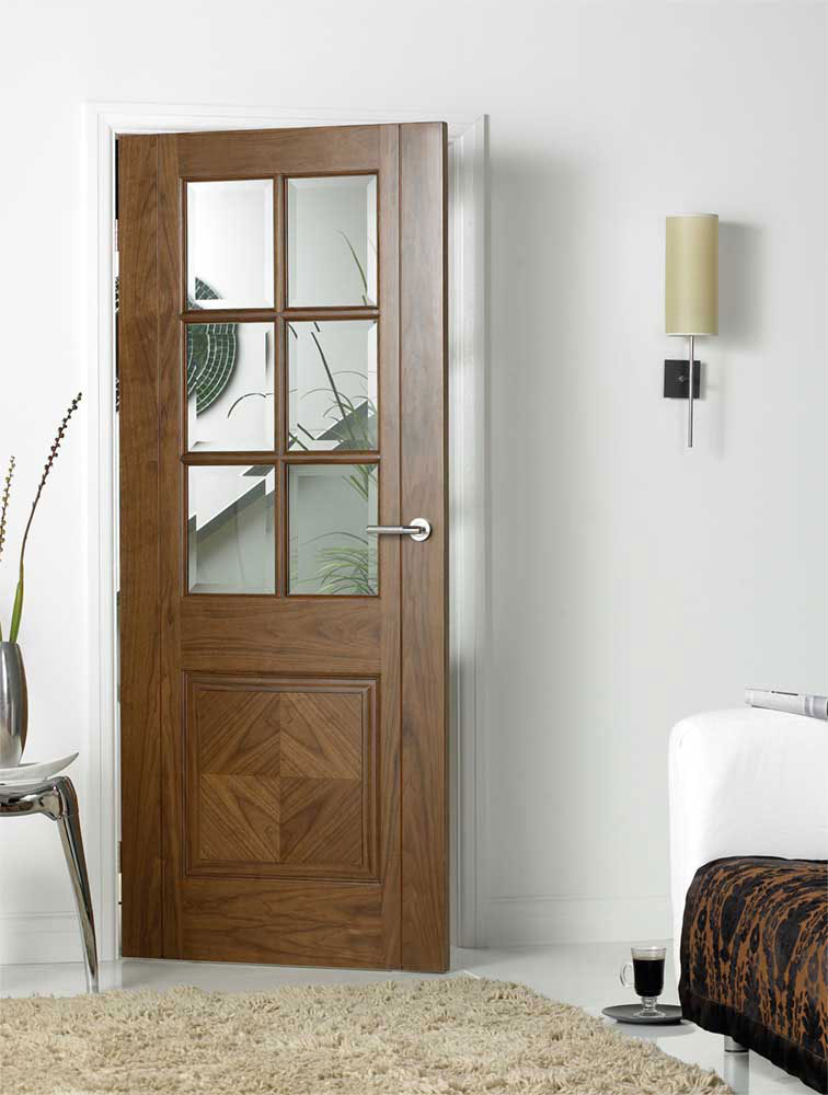 Barcelona Lifestyle & Kensington Internal Pre-finished Walnut Doors