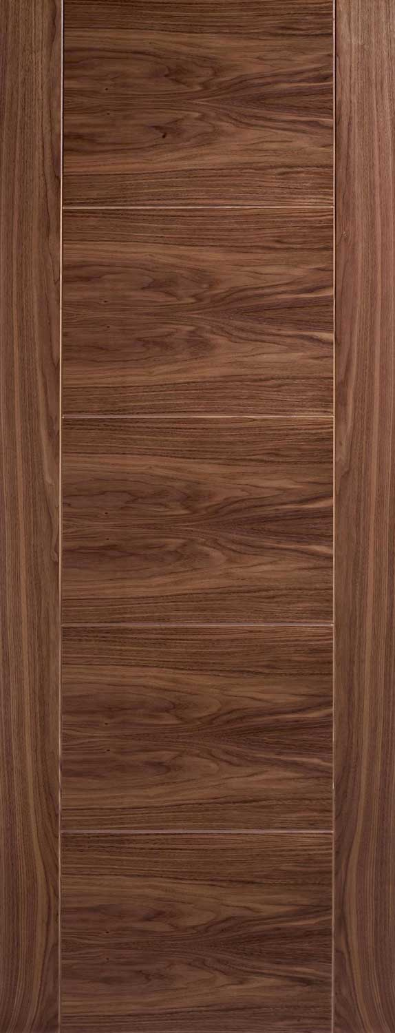 Vancouver Grooved Internal Pre Finished Walnut Doors
