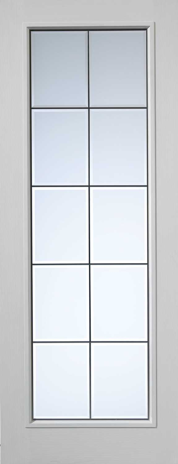 Decima decca textured white primed door - White doors with glass internal ...