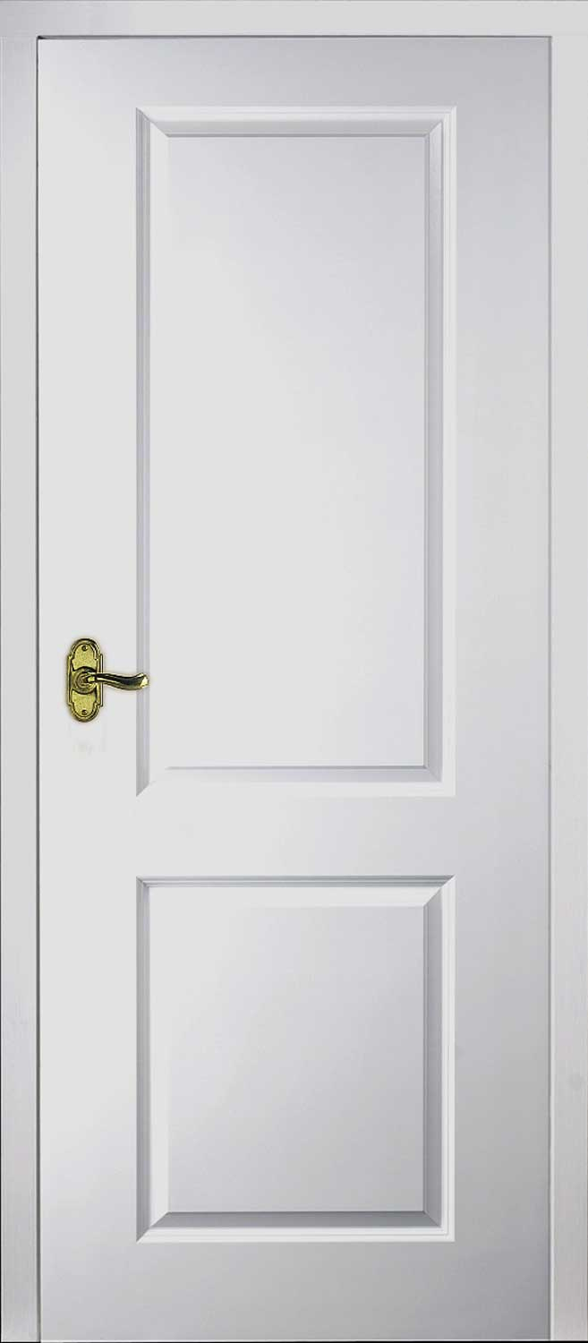 Toledo White Primed Door
