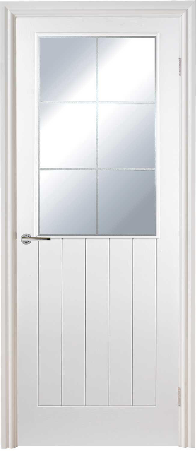 2 panel arched textured white primed door for Doors with panels