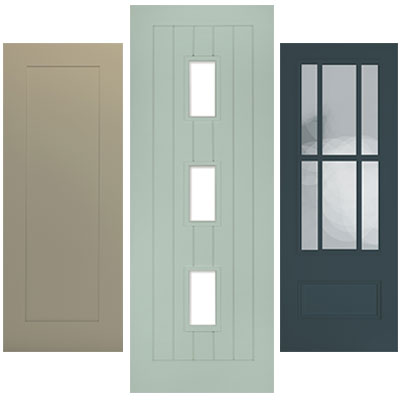 Internal Door Pairs in Frames